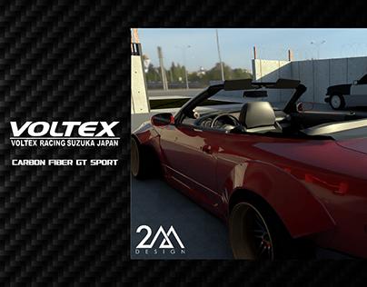 Voltex Carbon Fiber GT Racing