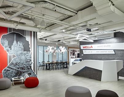 Wella World Studio Moscow, Russia, 2014-2015