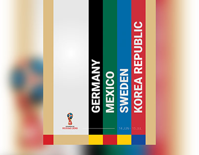 Posters - 2018 FIFA World Cup Russia (Group F)