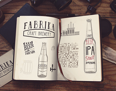 FABRIKA CRAFT BREWERY - LOGO DESIGN