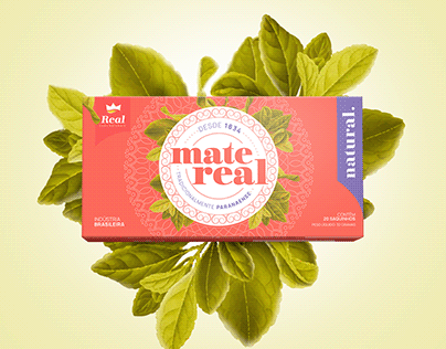 Chá Real: Nova Linha de Embalagens