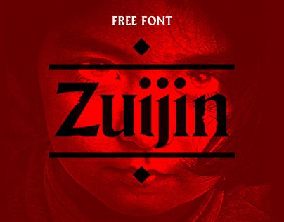 Zuijin - Free Font