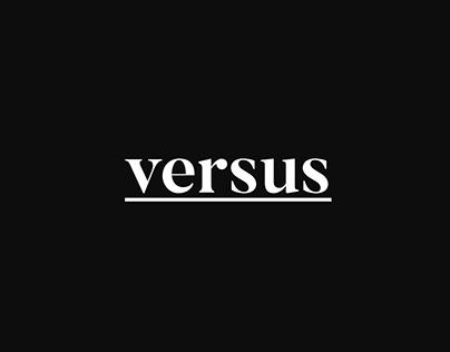 """""""versus"""" smart editorial design"""