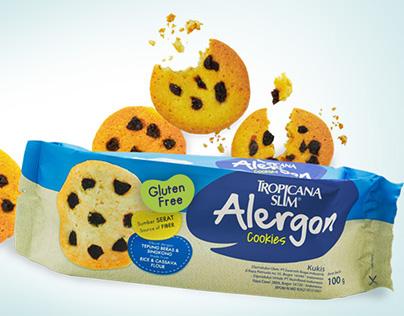 Tropicana Slim-Alergon Cookies Packaging