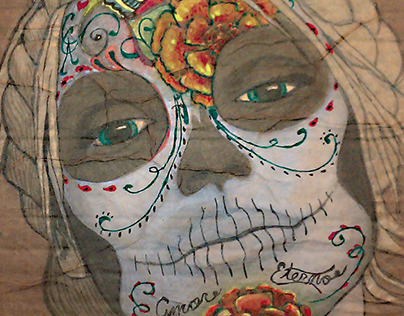 """Damas de los Muertos"" or ""Ladies of the Dead"""