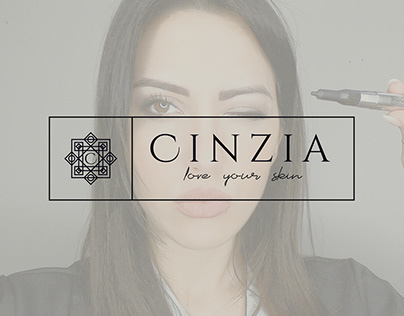 Cinzia Love your Skin Brand Identity