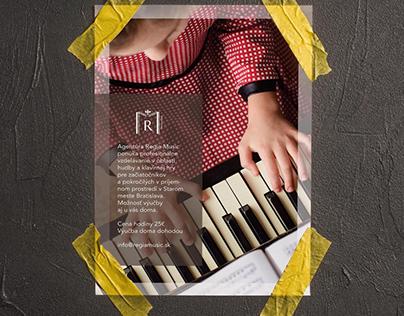 Graphic design for musician.