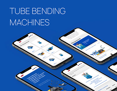 Website for Tube bending machines