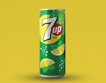 7UP   Lemon & Mint - New