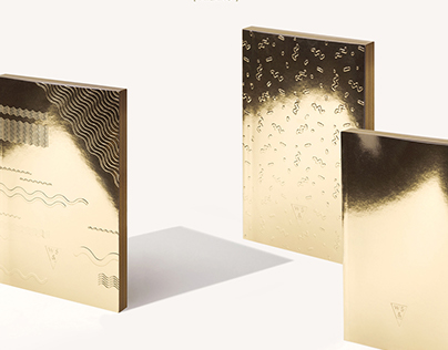 Write Sketch & | Super Collection | Gold Notebooks