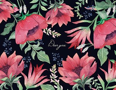 Pattern design-Deer you