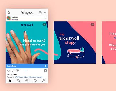 Treatwell Stop Campaign Design