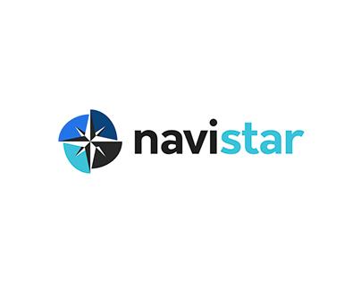navistar - logo design