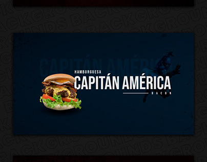 Marvels Food Banners