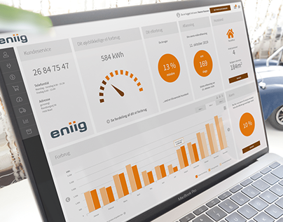 Customizable dashboard for energy end users.