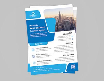 Print Ready Corporate Flyer Design