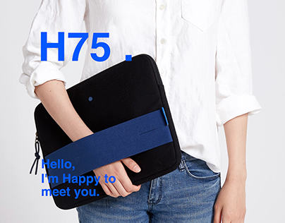H75 13' Laptop sleeve design project