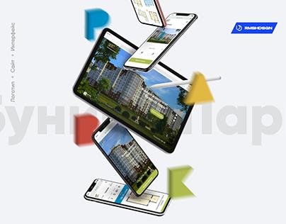 Bunina Park / Интерфейс / Сайт жилого комплекса