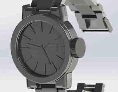 3D Watch Modeling
