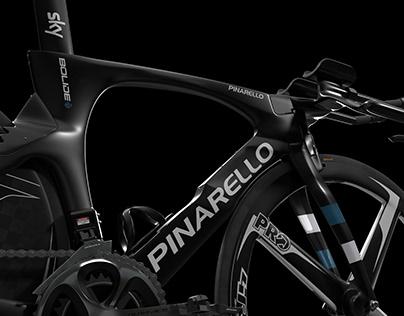 Pinarello BOLIDE TT - 3D Modeling & Visualization