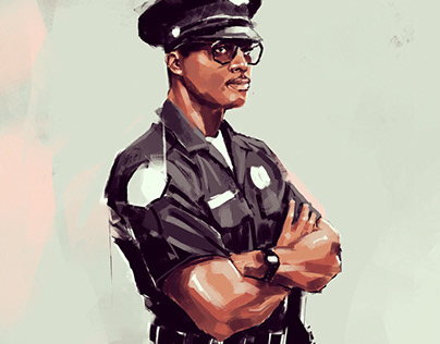 Kevin Hall L.A.P.D. 1980s