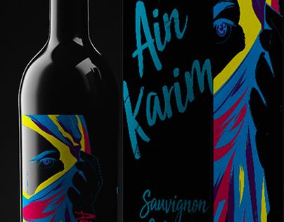 Propuesta de etiqueta para vino