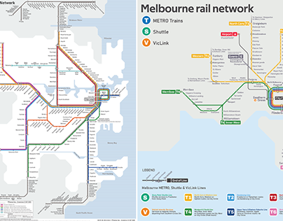 What if Sydney and Melbourne's train networks swapped?