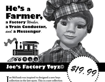 My Toy Mockup Ad