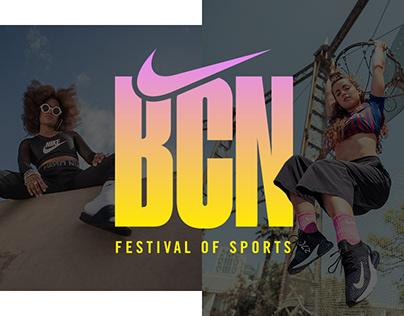 Nike - Festival of Sports Photoshoot