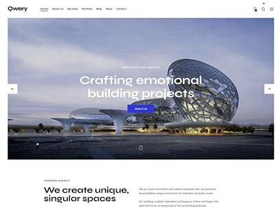 Qwery - Multi-Purpose Business WP Theme: Architect