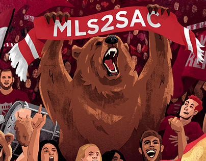 MLS - Sacramento Republic FC Illustration
