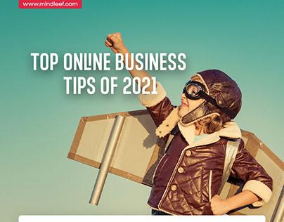 Top online business tips of 2021