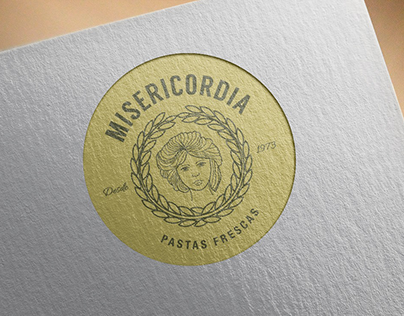 Misericordia Pasta: Corporate Identity - Branding