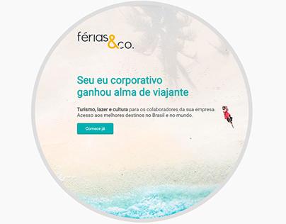 Site do Férias & Co.