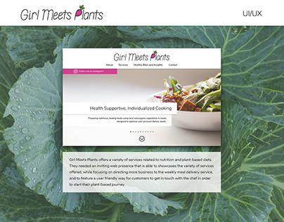 Girl Meets Plants - UI/UX
