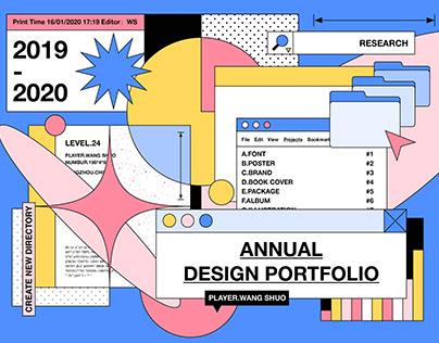 2019-2020 Annual Design Portfolio