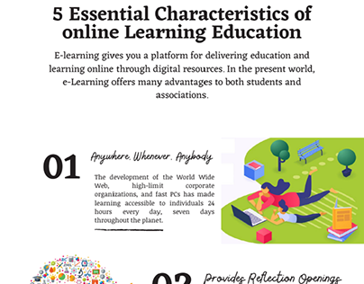 Characteristics of online Learning Education
