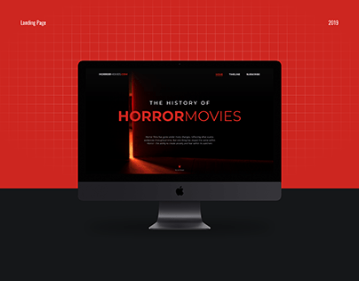 Landing Page / HORRORMOVIES