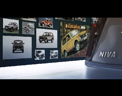 teaser how could look new Lada Niva off the Assembly li