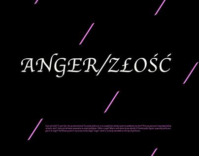 ANGER/ZŁOŚĆ