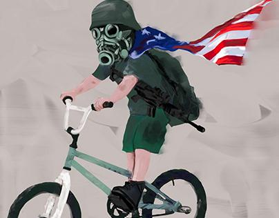 Bike Life Illustrations