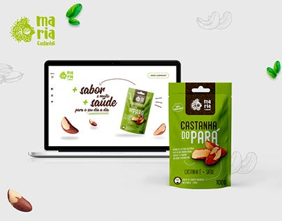 Web Site e Embalagem - Castanha do Pará