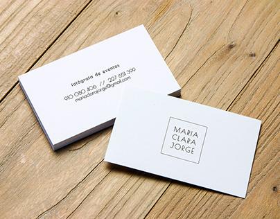 MCJ business card