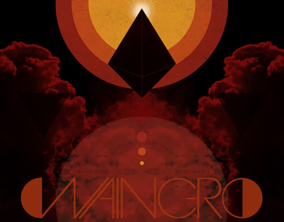 """Waingro """"S/T"""" - Album Packaging and Poster"""