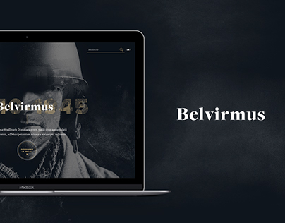 Belvirmus - Website design proposal