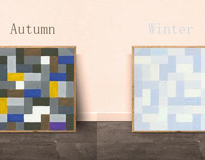 4 seasons 4 colorss