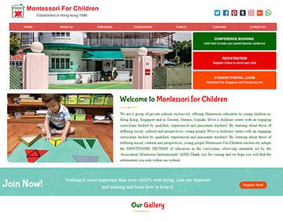 Website : Montessori-teachers.info