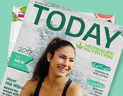 TODAY MAGAZINE | HERBALIFE
