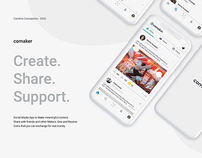 comaker - UX/UI App Design