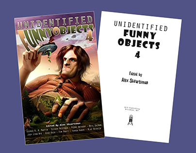 Book: Unidentified Funny Objects 4